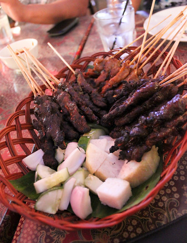 Chicken/Beef/Mutton Satay at King Satay