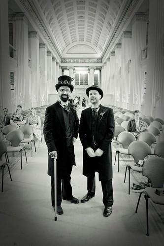 Gareth and Justin