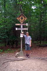 Midpoint Marker of the Appalachian Trail