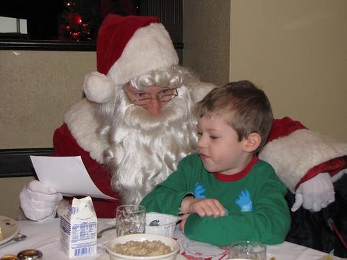 Santa and Benjamin