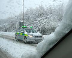 Lothian NHS Doctor on call (barronr) Tags: snow car scotland doctor nhs westlothian broxburn emergencydoctor
