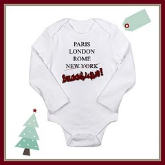 Show A Little Brooklyn Pride Baby Onsie