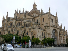 Cathedral of Segovia (Toni Kaarttinen) Tags: espaa tower church spain espanha cathedral espana segovia espagne spanien spagna espanya sgovie segvia castileleon
