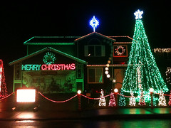 Magical Lights on 63rd Street in Vancouver WA