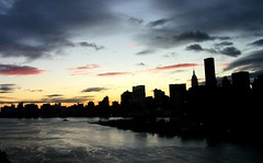 Autumn Manhattan Sunset