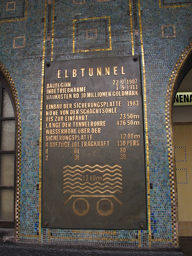 Elb Tunnel - Hamburg, Germany