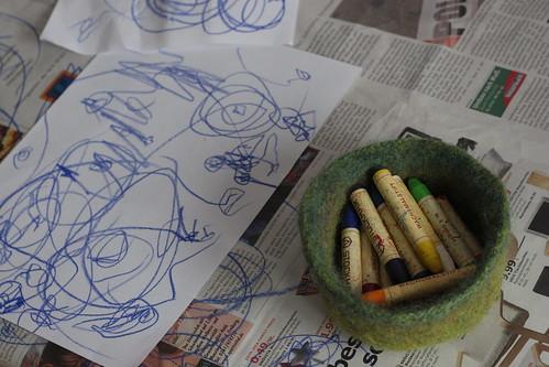stockmar beeswax crayons.