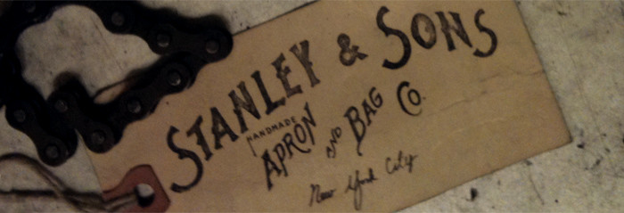 New apron from Stanley & Sons!
