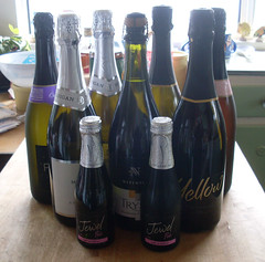 bottles drink alcohol bubbly 12of12 podcacher