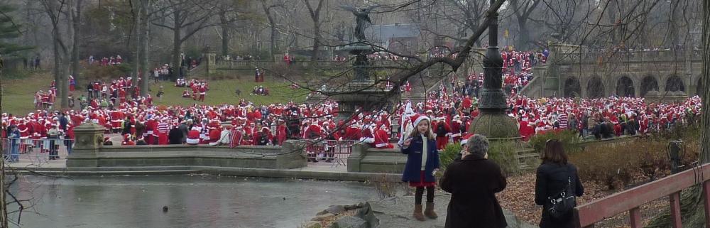 Lots of Santas