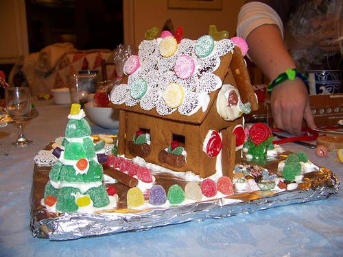 Evelin's Gingerbread house