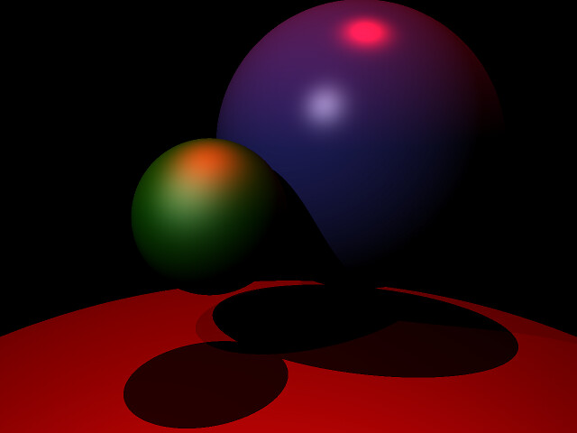 spheres on larger sphere