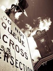 Clock Tower (dionisis varouxis) Tags: trafficlight flickr streetsign australia clocktower brokenhill facebook