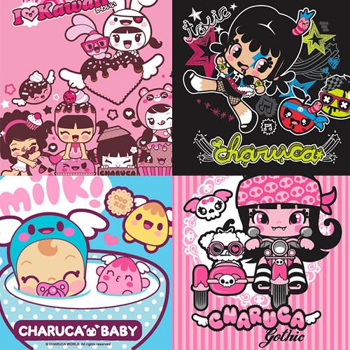 Charuca characters