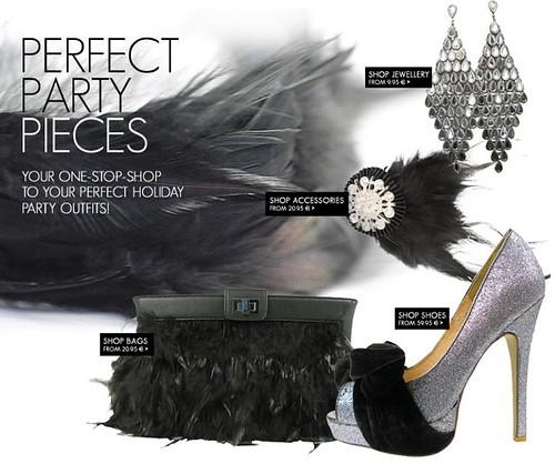 Friis & Company, accesorios de fiesta y zapatos de salón de Friis & Company, colección de moda para mujer