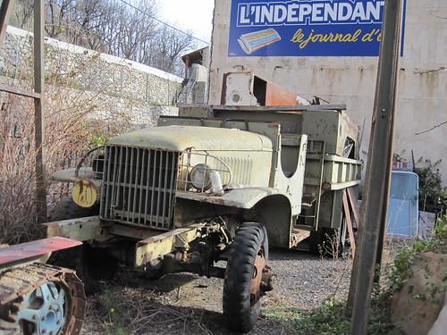 camió a Fontpedrosa (El Conflent)
