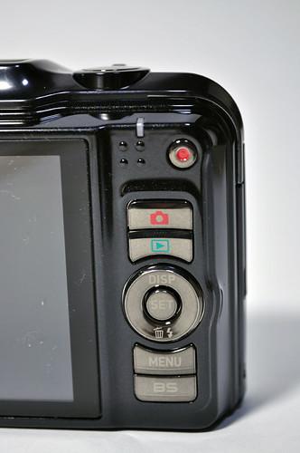 EXILIM EX-H20G 背面ボタン類