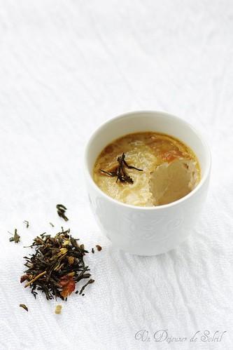 Pot de crème au thé épicé