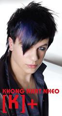 Trung tâm dạy nghề tạo mẫu tóc NAM NỮ [K+] hà nội : dạy cắt tỉa tóc - ép - uốn - nhuộm - ép phồng - ép xù gẫy - xoăn lọn to - xoăn xù - nhuộm các màu thời trang - nhuộm tóc màu đỏ tím - nhuộm tóc màu rêu - nhuộm tóc màu kh