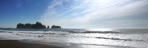 Rialto Beach, Washington-Pano