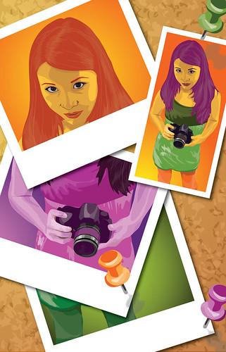 Vector Self Portrait
