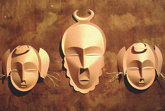 Origami création - Didier Boursin - Masques