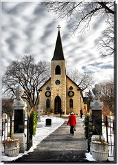 Oh Come All Ye Faithful (Theresa*) Tags: holiday snow church architecture clouds illinois cross oneofakind cemetary sunday decoration headstones graves wreath service gravestones naturesbest stjameschurch chicagoland lemont flickrnature beautifulcapture nikond80 enjoyillinois natureandlandscapes prettynaturephotos scenicoutdoors northcentralillinois natureanythinggoes prettyfreakinsweet theillinoisdirectory keleka656 fallandwinteraroundtheworld christmasworldwide aroundillinois postthebest onlythebestarememoriesthroughphotography