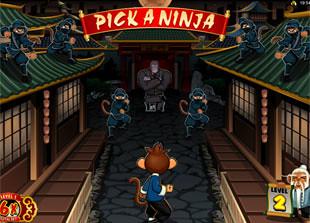 free Kung Fu Monkey bonus game level 2
