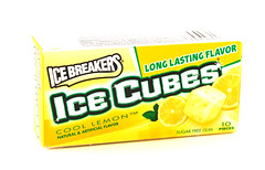 Ice Breakers Ice Cubes Cool Lemon