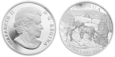 2011 Canada $20 Winter