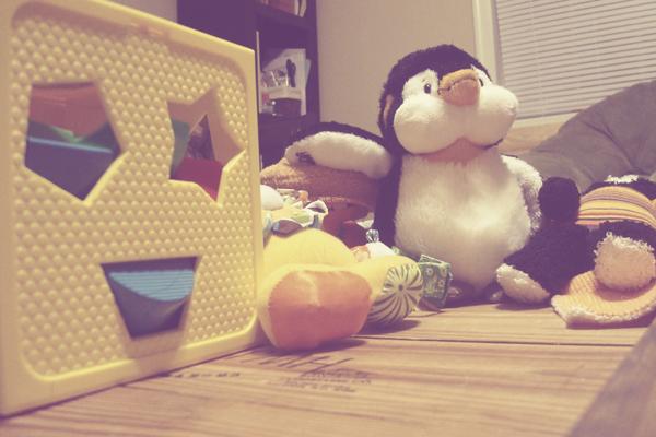 exibit a: he has toys