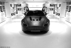 V12 Vantage. (DENNISVDMEIJS.NL Photography) Tags: autumn photoshop germany photography grey martin sony automotive dennis supercar aston astonmartin coup vantage 2010 grijs v12 nordschleife nrburgring a300 lightweight nrburg 1870vr meijs dennisvdmeijs