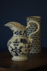 Blue and White (HelC) Tags: blue jug vase blueandwhite somethingblueinmylife