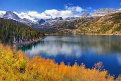 South Lake Eastern Sierras (kevin mcneal) Tags: autumn lake color fall seasons sierras easternsierras southlake
