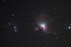 m42 (dim3master) Tags: winter light cold canon dark rebel us kiss space il 300mm telescope nebula astrophotography orion m42 60mm dslr t2 milkyway x3 500d huntley tasco eq1 primefocus Astrometrydotnet:status=solved kissx3 t1i Astrometrydotnet:version=14400 Astrometrydotnet:id=alpha20101232032472