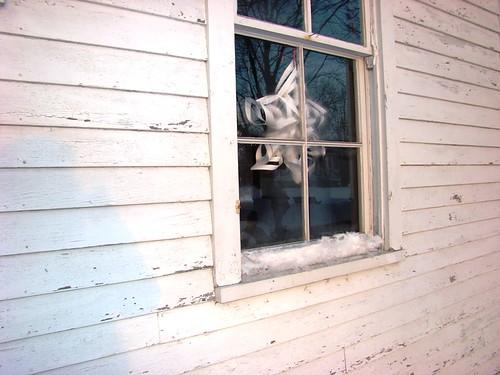 winter farmhouse