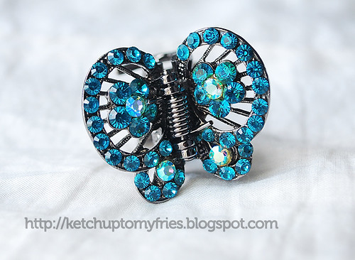 butterfly-hair-pin