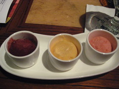 Sorbet Sampler @ Jiko, Animal Kingdom Lodge