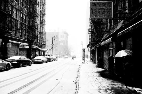Broome Street in the Snow (II)