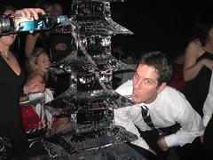 Vodka Ice Sculpture