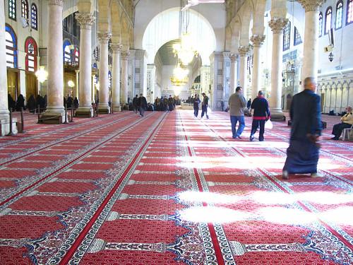 Umayyad Mosque Old City Damascus