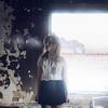 (yyellowbird) Tags: winter house cold abandoned window girl fire illinois smoke breath cari leafriver
