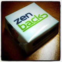 納会で登場! @zenback チョコレート。 #zenback