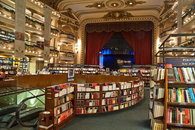 El Atena Grand Splendid Bookshop, Recoleta, Buenos Aires, Argentina, 28th. Dec. 2010