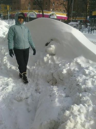 Bronx snow storm