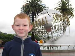 Kade at Universal Studios