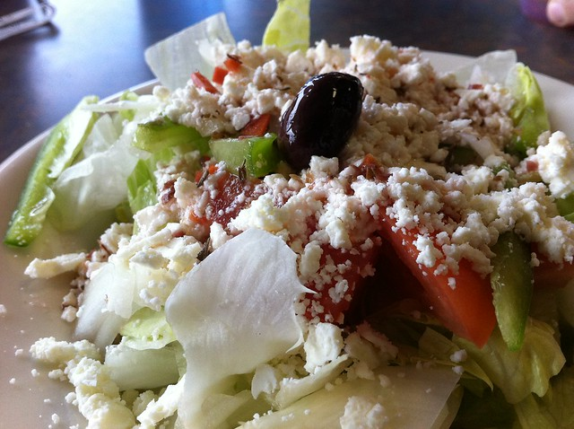 Greek Salad, Gem Coney Island, Toledo