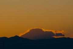 2010年最後の富士山