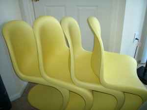 Yellow chairs 1