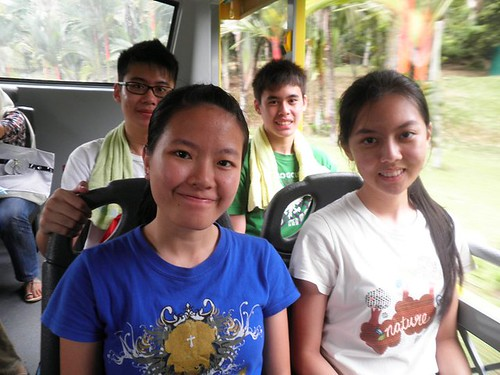 Calvin,Terence,Shi Ning and Chee Li Kee